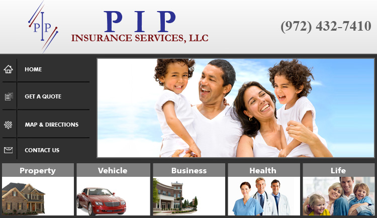 Pip Insurance for Mortgage Home Loan in Dallas Texas