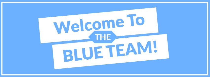 Welcome To The Blue Team