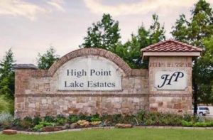 High Point Lake Estates in Rockwall